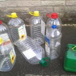 chip oil containers for collecting used vegetable oil
